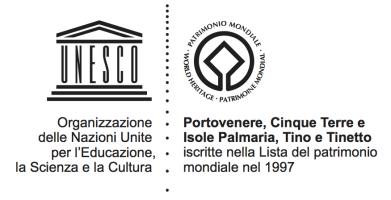 Logo UNESCO: Portovenere, Cinque Terre e Isole Palmaria, Tino e Tinetto