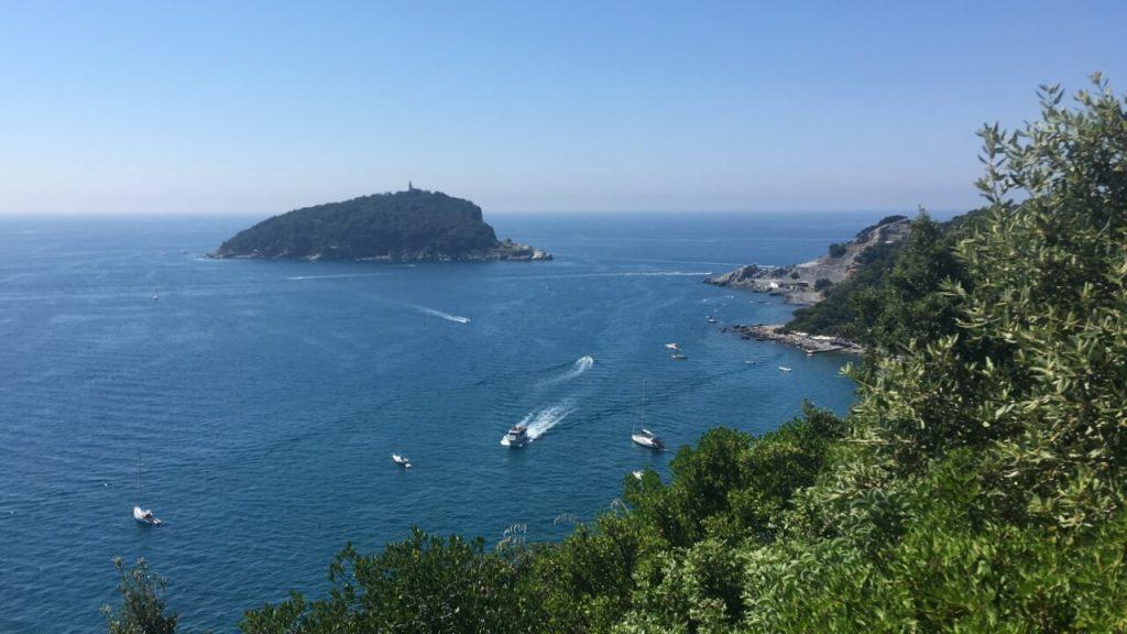 Isola del Tino e Punta dell'Isola